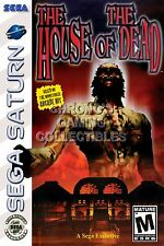 RGC Huge Poster - The House of the Dead Sega Saturn BOX ART - SAT034