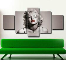 Marilyn Monroe Movie Poster Painting Print on Canvas Wall Art Bedroom Home Decor