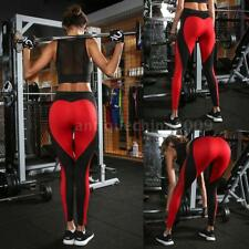 Women Casual Yoga Fitness Leggings Running Gym Stretch Sports Pant Trousers V9J9