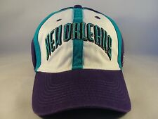 New Orleans Hornets NBA Reebok Fitted Hat Cap