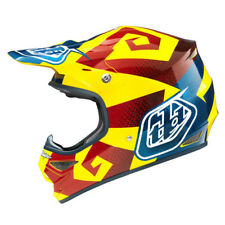 Troy Lee Designs NEW TLD Mx Gear Air Vega Yellow Red Motocross Bike Helmet