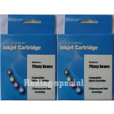 2PK Ink Cartridge For Hasler 4124703Q WJ150 WJ135 WJ185 WJ180 WJ215 31,5000 Page
