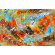 Abstract Canvas Print Wild Thoughts, Original