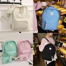 Women Canvas Backpack  Backpacks Travel Bags Backpack School Bag Fashion Casual~