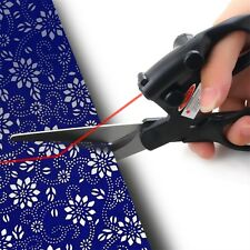 Laser Guided Fabric Scissors Trimmer Sewing Cut Straight Fast Paper Craft LLX