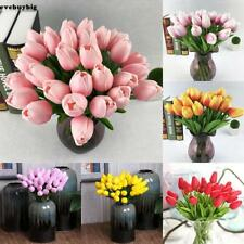 Artificial False Tulip Fake Flowers Bouquet Room Home Wedding Decor Useful