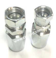 JIC Female Hydraulic Field Fittings Reusable Two Wire Braid Fitting