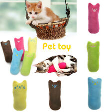 Cat Kitty Pets Teeth Pillow Interactive Scratch Crazy Kicker Catnip Toy Grinding