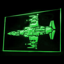 220053 Air Force Aircraft Navy Combat Military Attack Exhibit LED Light Sign