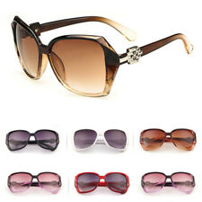 Retro Fashion Womens Big Oversized Vintage Designer Eyewear Sunglasses Shades