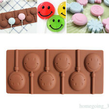 Sunflower Lollipop DIY Biscuit Chocolate Mold Soft Silicone Cake Baking Mold