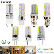 Dimmable G9 G4 E12 E14 LED Corn Bulb 3014 SMD Replace Halogen Lamp Light Bright