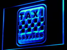 """16""""x12"""" i976-b Taxi Service Cab Display Lure Neon Sign"""