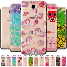 Rubber Silicone Skin TPU Soft Back Case Shockproof Protective Cover For Samsung