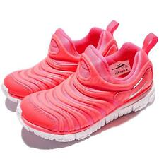 Nike Dynamo Free PS Pink White Preschool Girls Running Shoes Sneakers 343738-620