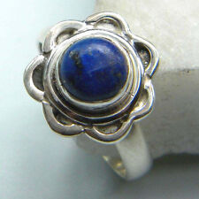 LAPIS LAZULI SOLID 925 STERLING SILVER FASHION RING CUSTOM SIZE 5,6,7,8,9,10