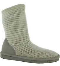Bearpaw Womens 'Knit Short' Sheepskin Boots