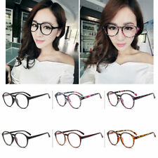 Vintage Retro Fashion Womens Eye Glasses Round Anti-fatigue Clear Lens Eyewear