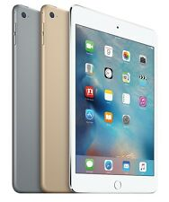"Apple iPad Mini 4 4th Gen 16GB 32GB 64GB 128GB Wi-Fi 7.9"" Retina Display Tablet"