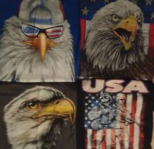 American Bald Eagle Team USA Trucker Hat Cap Patriot Bird T Shirt Mens S-3XL New