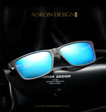Mens Aluminum Polarized Driving Sunglasses Sports Mirrored Glasses Eyewear UV400