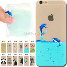Silicone Soft Cover Shockproof Case Rubber TPU Skin Back For Apple iPhone 6/6S