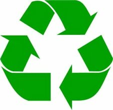 Recycle Logo Vinyl Decal - oracal car window sticker Work Home Renew and Reuse