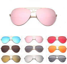 Fashion Unisex Women Men Aviator Sunglasses Vintage Shades Eyewear Eye Glasses