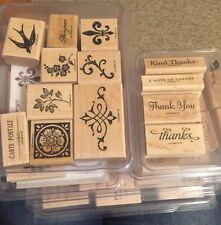 You Choose - Stampin' Up! Stamp sets - Wood Mount