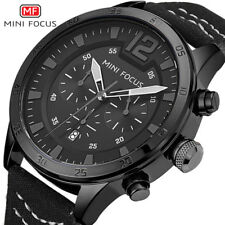 MINI FOCUS Chronograph Men Sports Watches Quartz Casual Wrist Watch Military