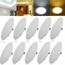 10X 6W-24W DIMMABLE RECESSED LED CEILING PANEL FLAT LIGHT SPOT BULB FIXTURE LAMP