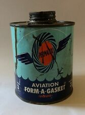 Permatex Aviation Form-A-Gasket Can Vintage Advertising Product Great Graphics