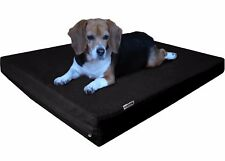 7 Sizes Memory Foam Pet Bed for Medium to Large XL Jumbo Canvas Waterproof Cover