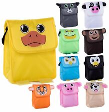 Fun Animal Snack Bag for Kids | Lightweight and insulated Lunch Bag With Strap