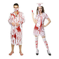 MagiDeal Bloody Doctor Costume Mens Outfit Halloween Party Adult Fancy Dress Set