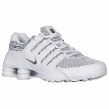 Nike Shox NZ SE Men's Running Shoes 833579-100 White Grey (Size 8)
