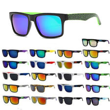 Outdoor Sports Unisex Block Cycling Helm Sunglasses Shades UV400 Men Women