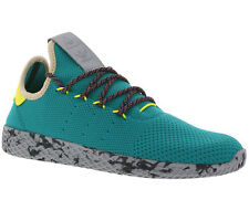 ADIDAS ORIGINALS PHARRELL WILLIAMS TENNIS Hu SHOES TRAINERS GREEN cq1872