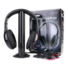 5 in 1 Wireless Stereo Strong Signal FM Radio Cordless Headset Headphone for MP3
