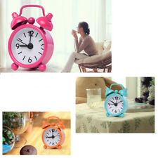 New Home Portable Mini Dial Number Round Table Alarm Clock Decor Gift 8 colors
