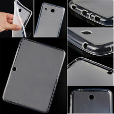 Clear Soft Matte TPU Gel Case Cover Skin Protector For Samsung Galaxy Tablet Tab