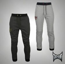 Mens Branded Tapout Fleece Lined Drawstring Joggers Sweat Pants Size S-XXL