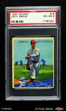 1934 Goudey #19 Lefty Grove Red Sox PSA 4 - VG/EX
