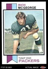 1973 Topps #424 Rich McGeorge Packers EX/MT