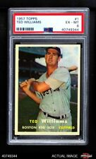 1957 Topps #1 Ted Williams -  Red Sox PSA 6 - EX/MT