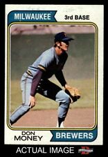 1974 Topps #413 Don Money Brewers EX/MT