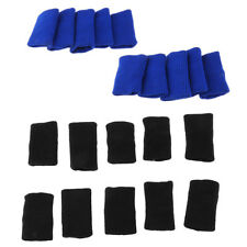 10Pcs Stretchy Finger Protector Sleeves Support Guard Basketball Volleyball