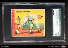 1933 Goudey #119 Rogers Hornsby Cardinals SGC 5 - EX