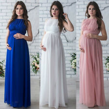 Prom Gown Maternity Long Maxi Dress Wedding Party Dress Photography Prop Clothes