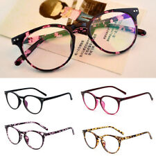 Unisex Vintage Retro Eyeglasses Anti Radiation Clear Lens Eyewear Womens Mens